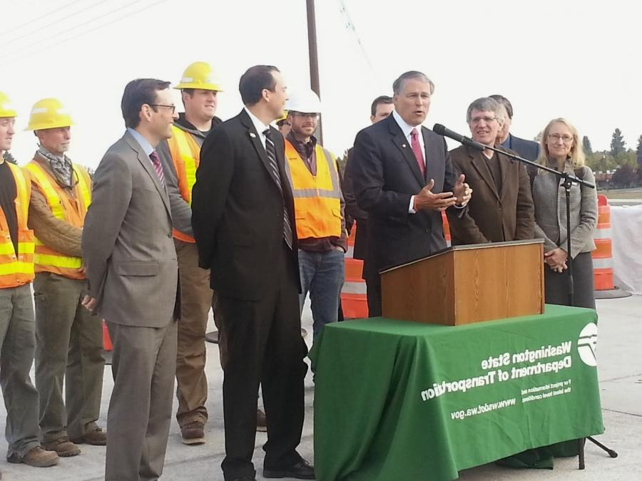 ... today tour our transportation facilties and urge lawmakers to...
