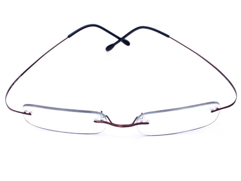 Picture of Secondo frameless glasses - Menchie Bordeaux ...