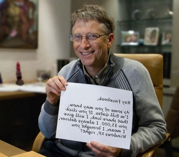 essay on bill gates