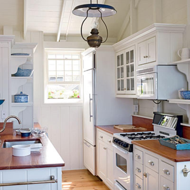 Project Info. small galley kitchen ...