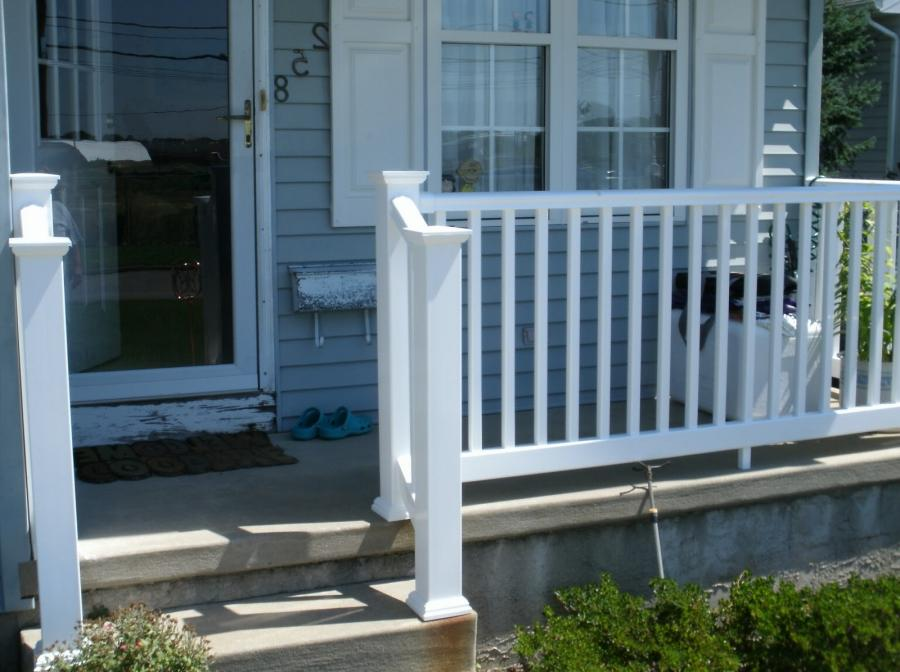 Front Porch, Alluring Front Porch Railing For Exterior Design...