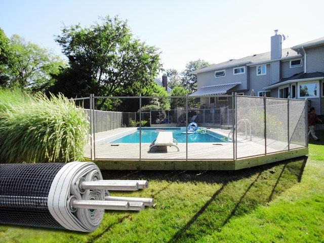 Inground Pool Fence Photos
