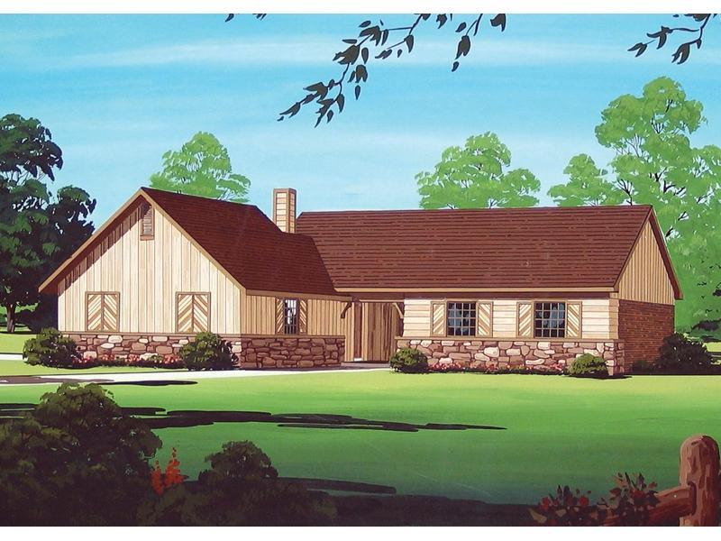 Rustic ranch house plans photos for Rustic ranch house plans