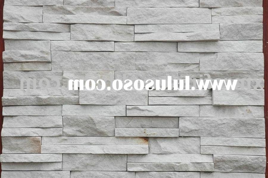White Stone Wall Photos