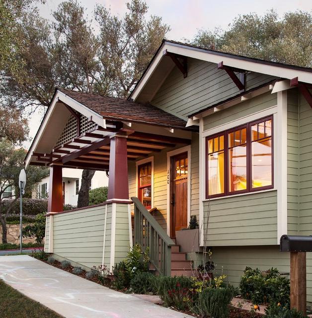 Atlanta Bungalow Renovation: Craftsman Porch Photos