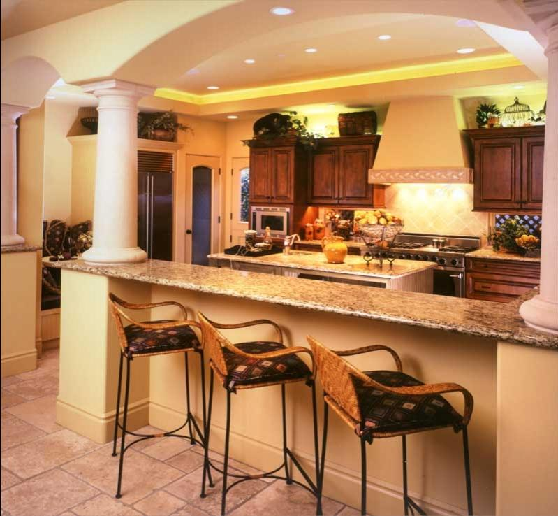 Tuscan kitchens photo gallery for Tuscan kitchen designs photo gallery