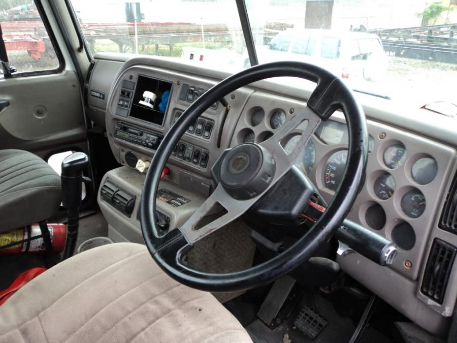 Truck cab interior photos