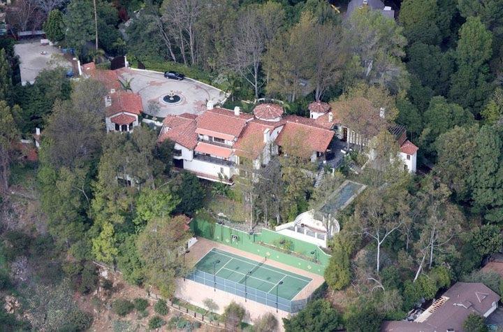 Ryan Seacrest New House Photos
