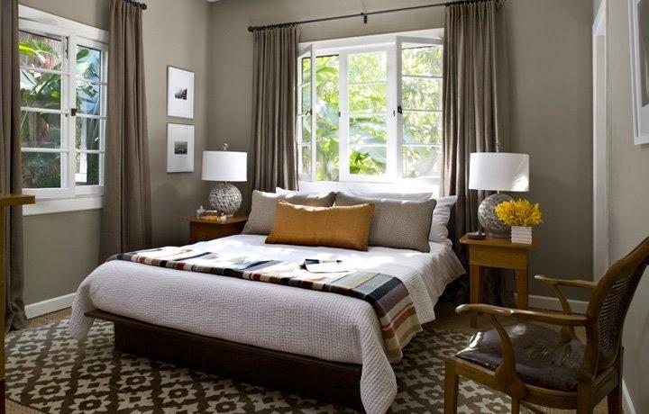 Attractive Grey Bedroom Walls Modern Interior Design Gallery Source