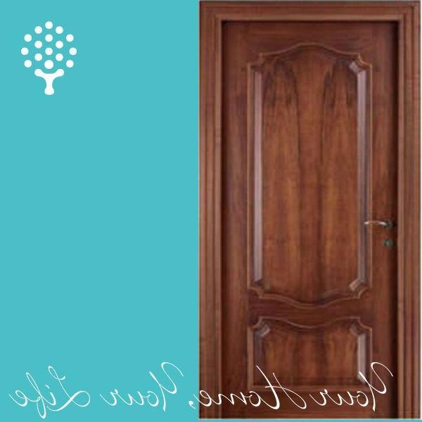 Single door designs photos for Bedroom door designs in wood