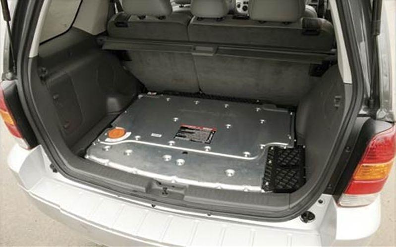 Ford escape hybrid photos interior