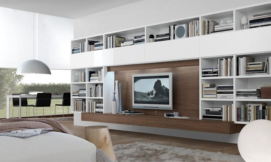 Home Interior Design with Open Wall System Furniture Series by...