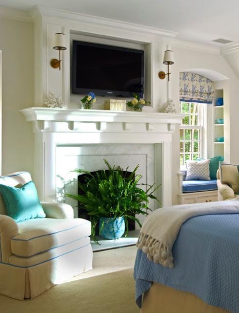 Tv over fireplace design photos for Home decor 91304