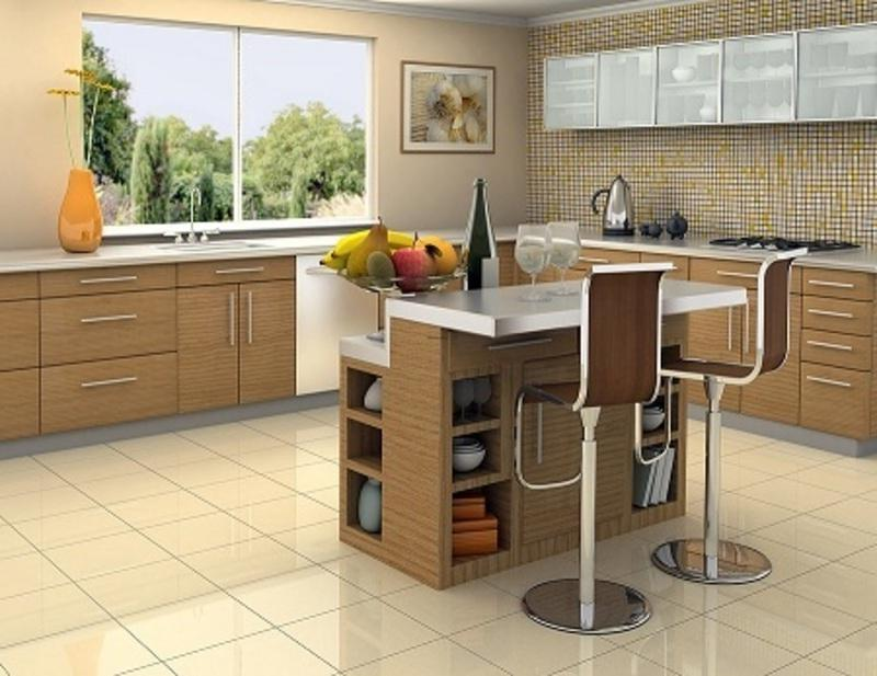 Contemporary Kitchen Island Ideas With Elegant Decor