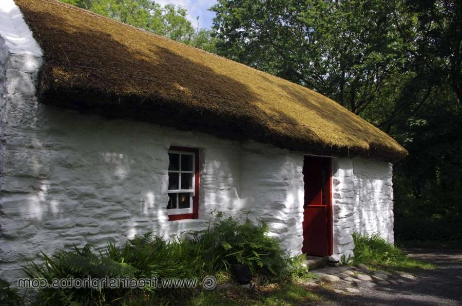 Old Irish Cottage Photos
