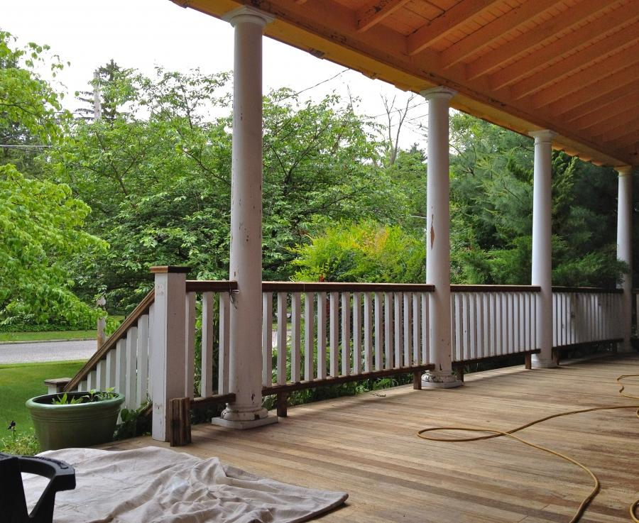 DIY front porch renovation... weu0026#39;re restoring our...