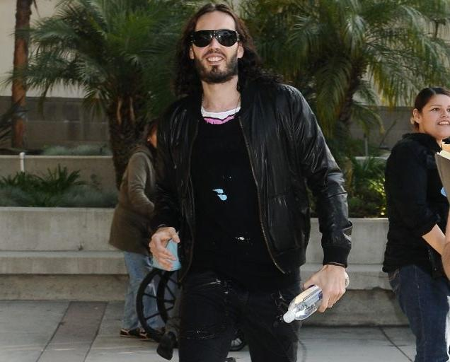 Russell Brand is set to make his first public appearance since...