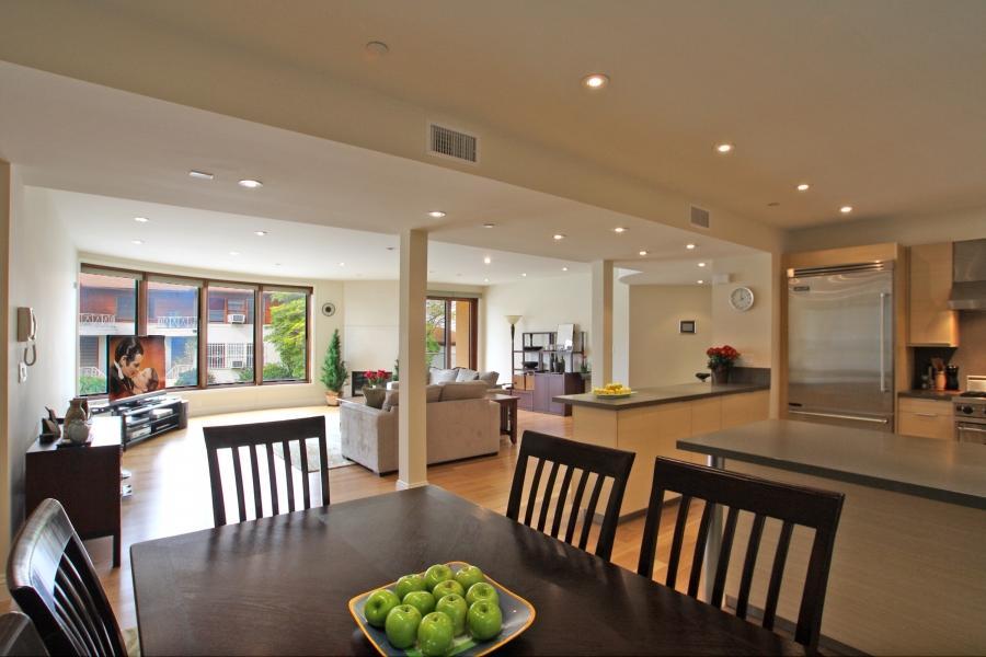 Kitchen living room open floor plan photos Open floor plan kitchen dining living room