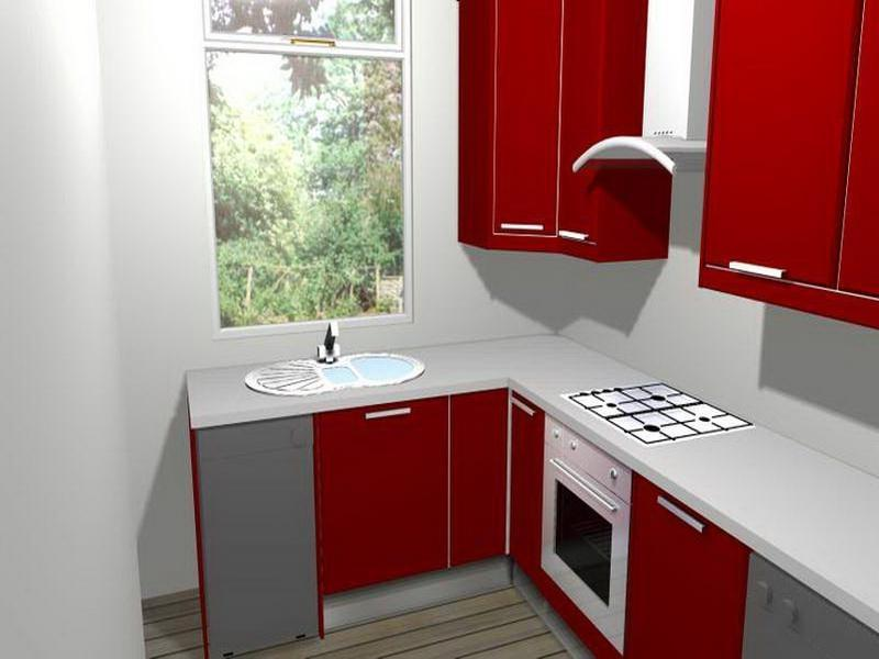 Ikea Red Kitchen Photos