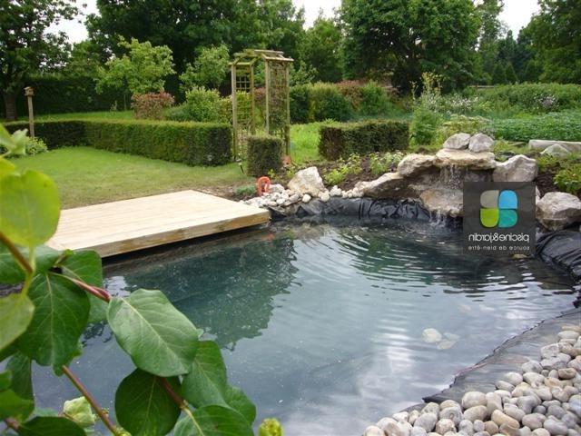 Photo decoration bassin exterieur