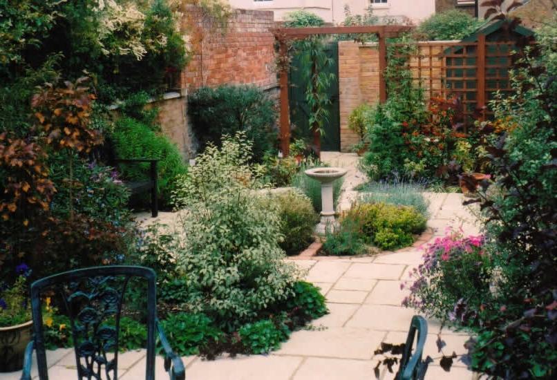 Victorian garden design photos