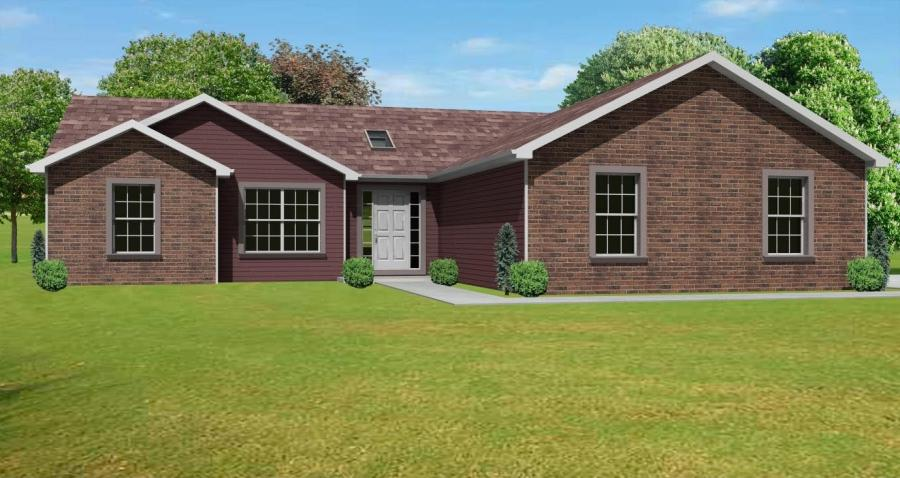 Brick ranch house photos for Brick ranch home plans