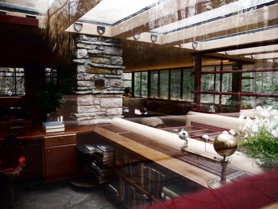 Interior Photos Of Falling Water