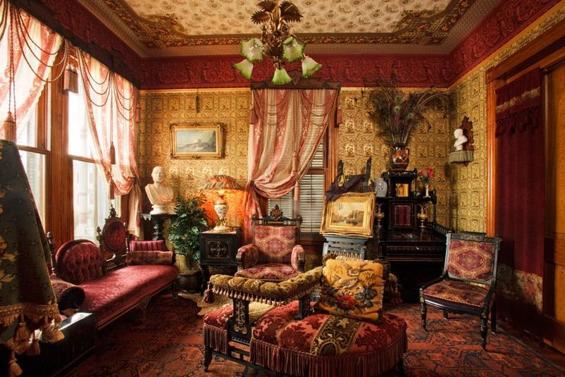 interior decor victorian parlor photos