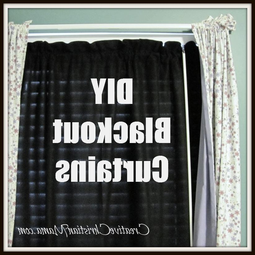 I made my own blackout curtains! Before you say u201cI...