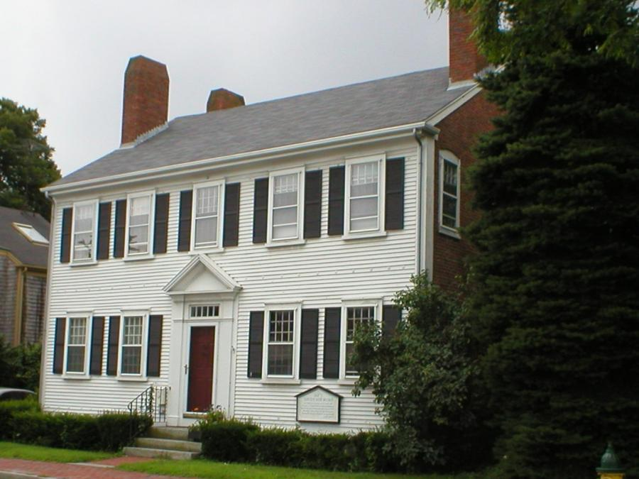 New England Colonial House Photos
