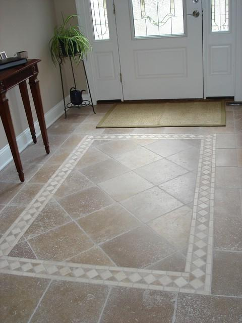 Tile entryway ideas photos for Tile for entry foyer