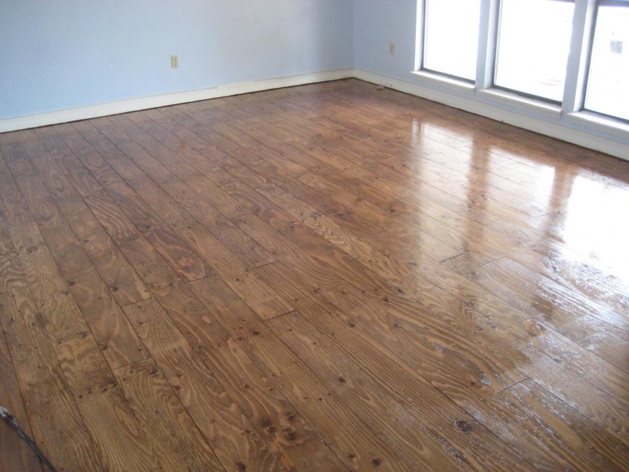 Stained Plywood Floors Photos