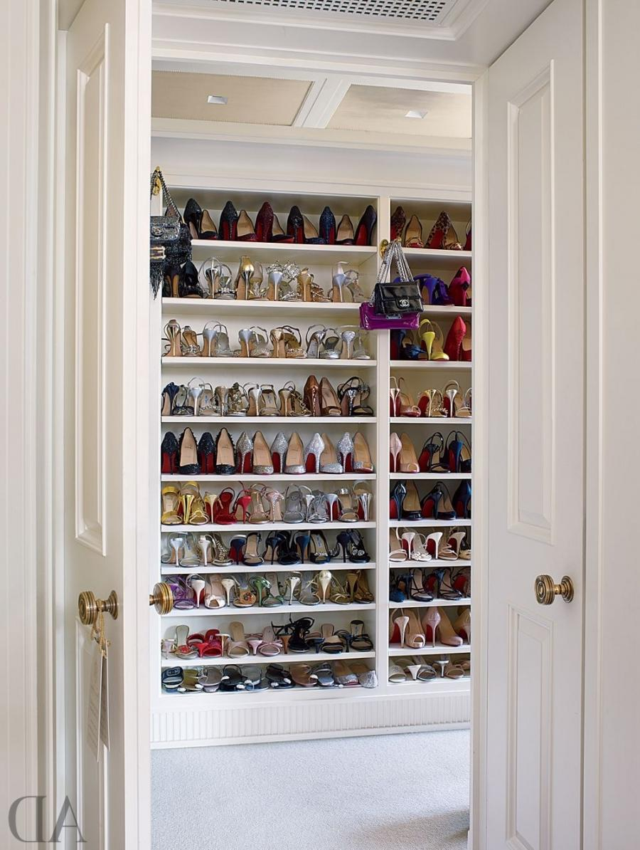 Traditional Dressing Room/Closet by Michael S. Smith Inc. and...