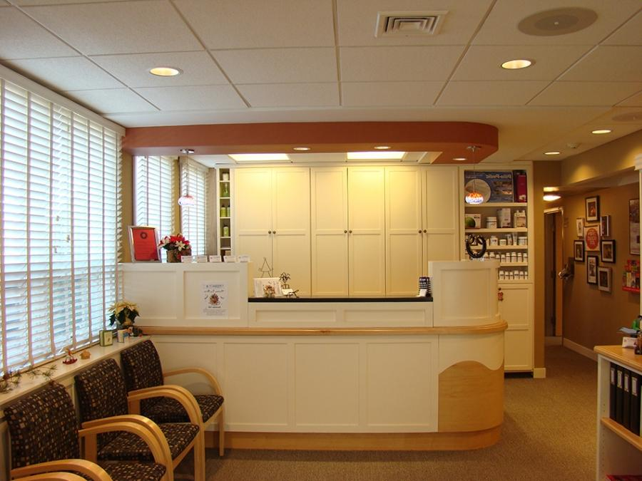 Interior design photo of medical office for Interior design medical office