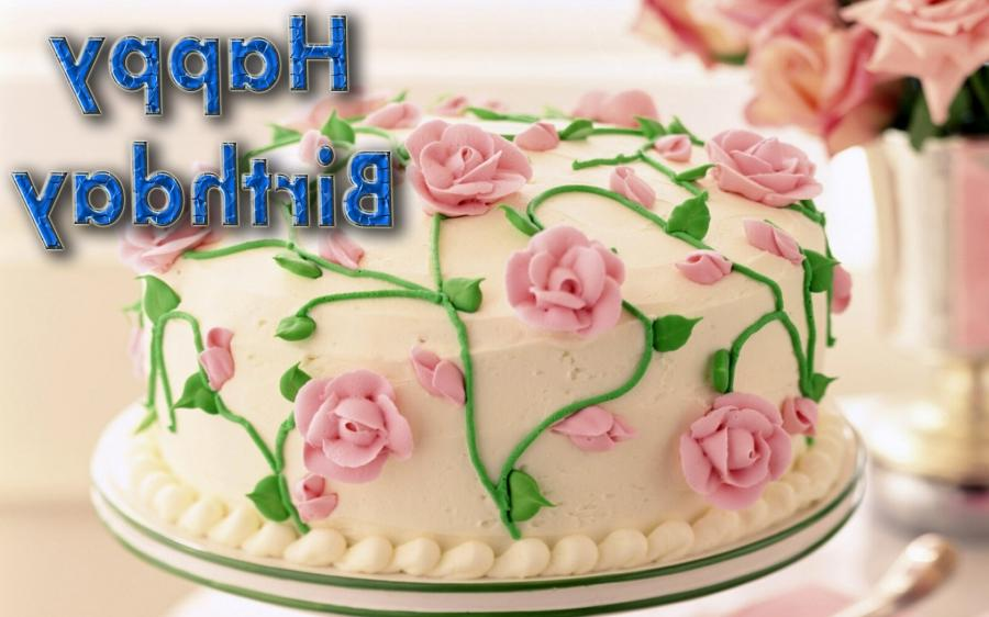 Birthday Cake Flowers Photos