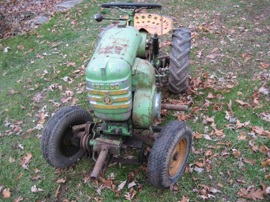 Antique Garden Tractors Photos