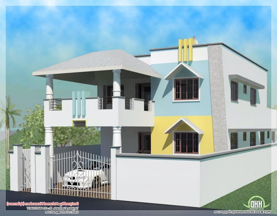 2200 sq. feet minimalist Tamilnadu style house | KeRaLa HoMeS source