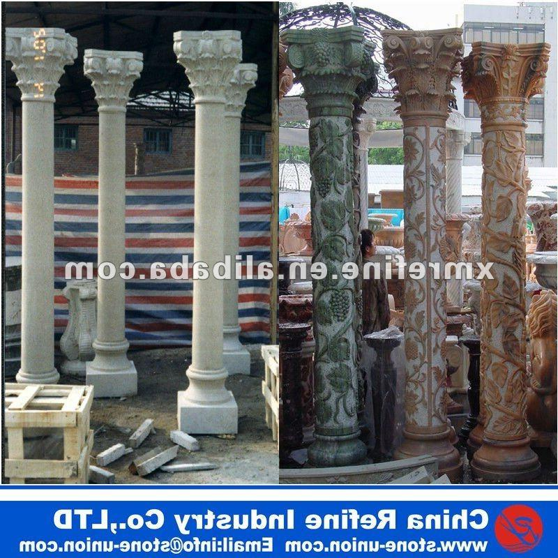Decorative interior columns photos for Where to buy columns for house