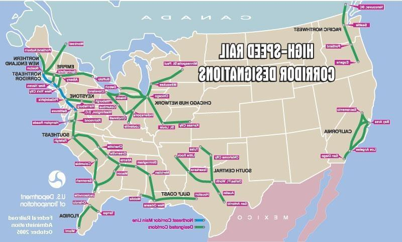High-Speed Rail Corridors and John R. Stilgoe
