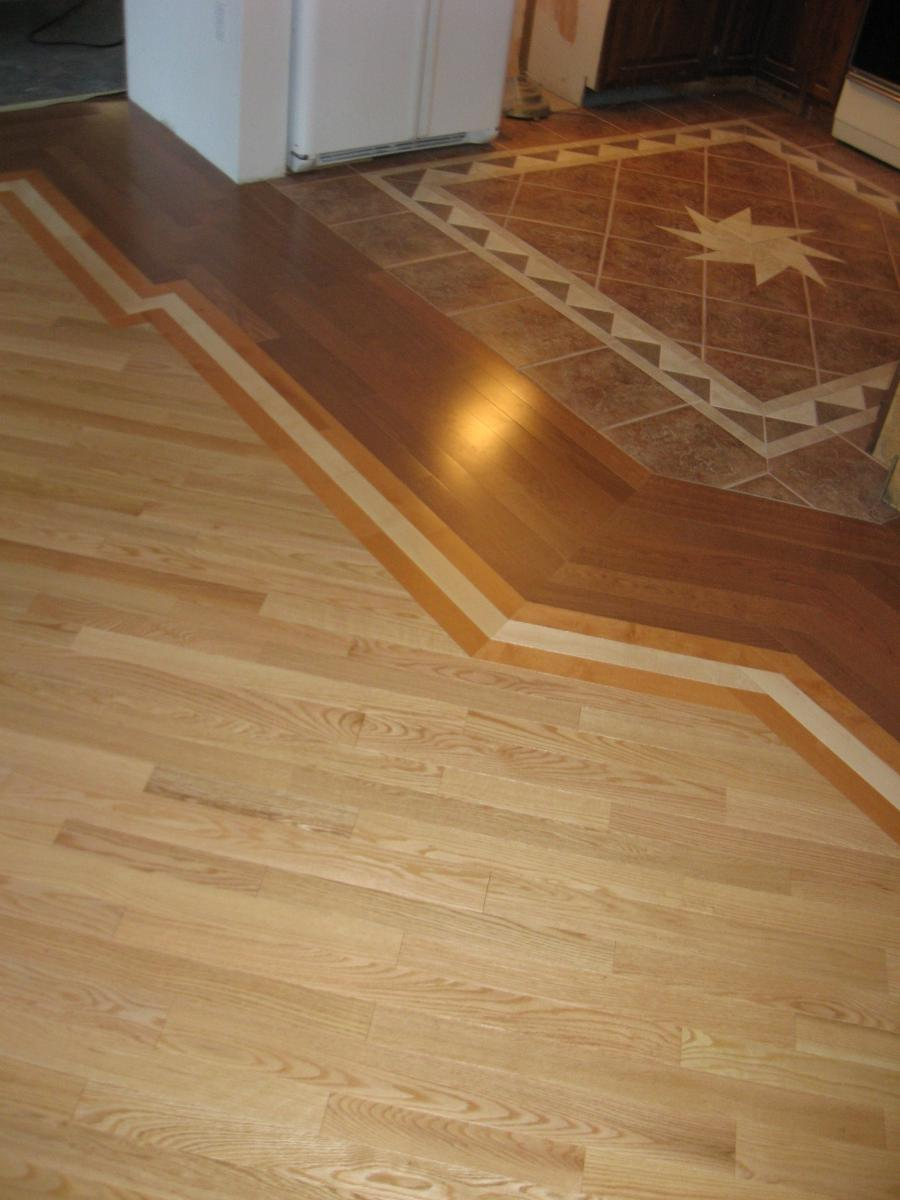 Tile To Wood Transition Flooring Photos