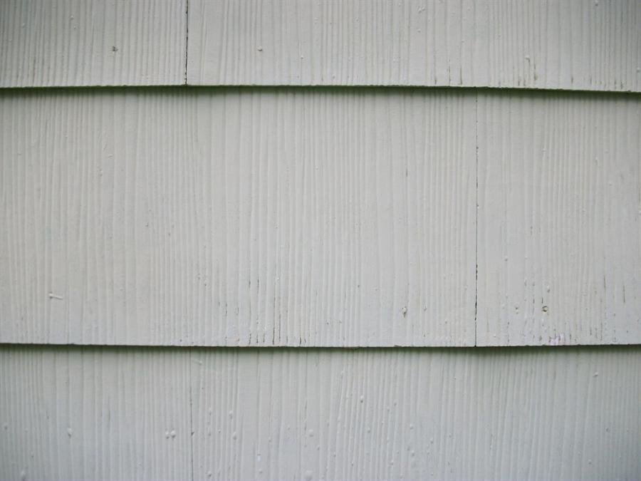 Asbestos siding photo