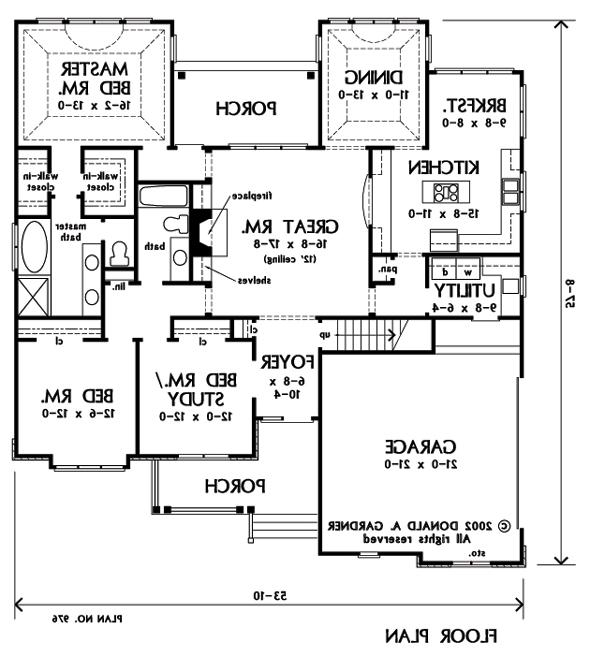 Donald A Gardner House Plans With Photos
