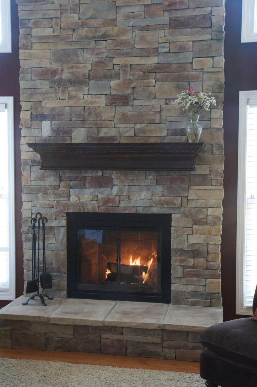 Photos Of Stone Fireplace
