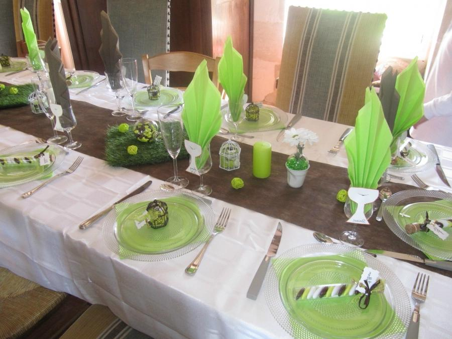 decoration de table de communion