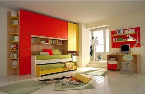 Interior design photos kids room for Celebrity kids bedroom designs