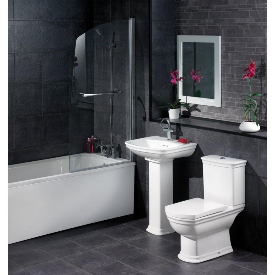 Best 11 Stylish Black And White Bathrooms Collection :...