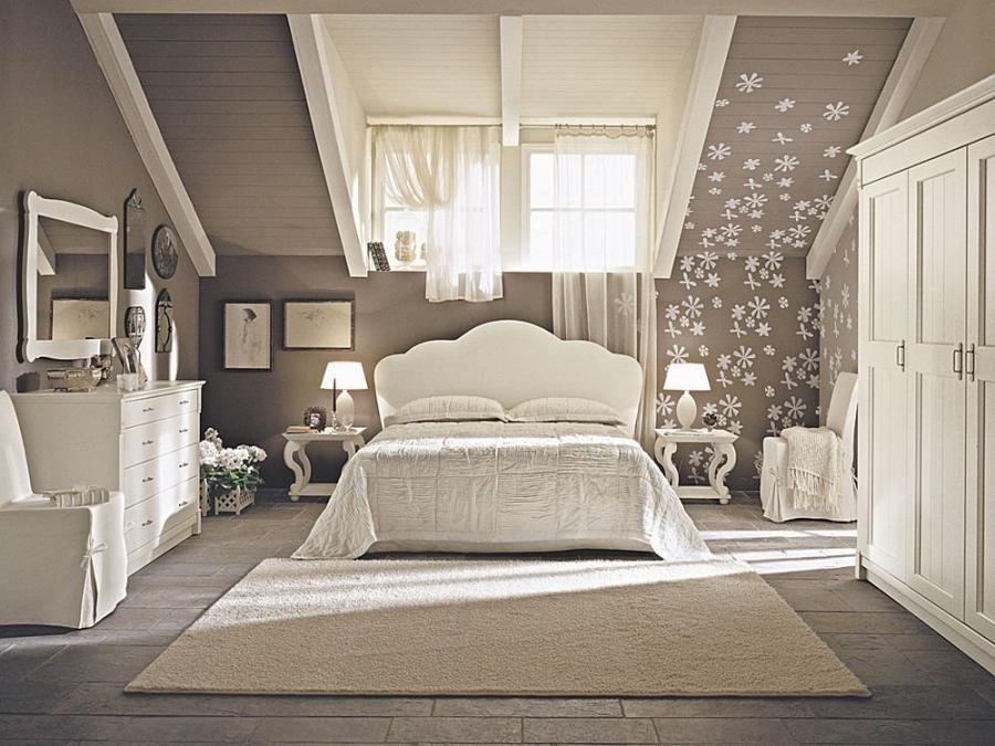 Elegant Bedroom Designs With Catchy Arrangement With Cool Tone...