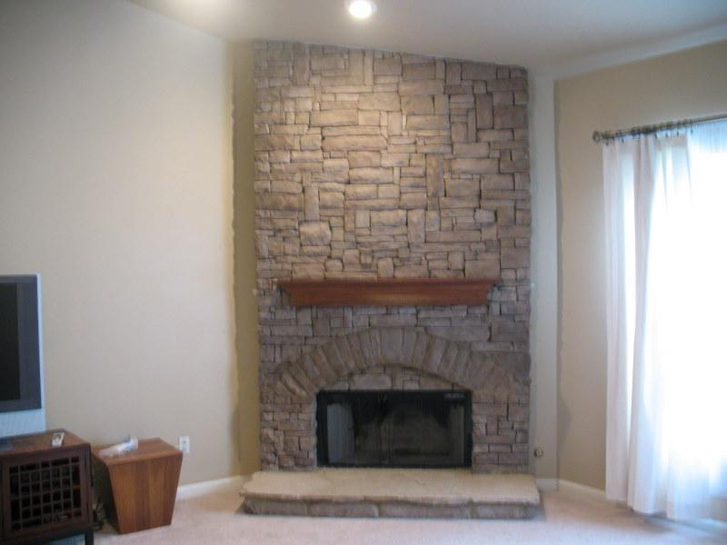 indoor stack stone fireplace from jackpot construction in...