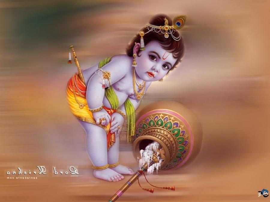 Baby Krishna Photos Wallpapers