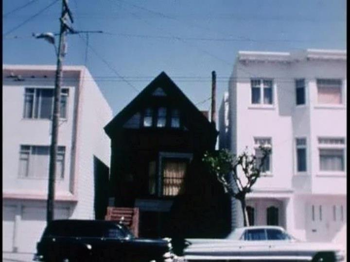The Black House at 6114 California St. in San Francisco,...